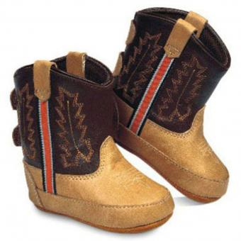 Old West Babyboots Little Pony helder bruin bruin | 4