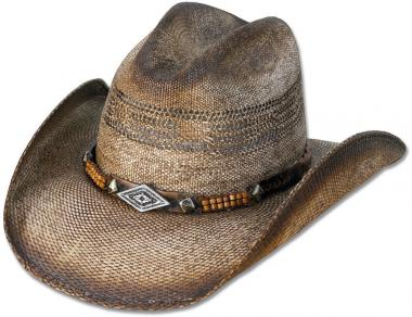Stars & Stripes Straw Hat Speed light brown | M