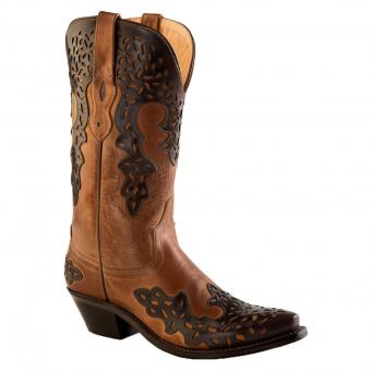 Old West Cowboy Boots Paige black brown | 40