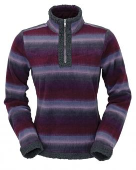 Outback Fleecepullover Karly paars | XXL