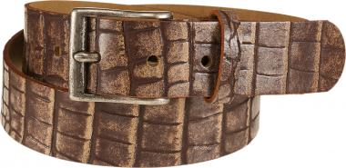 Belt Crocodile brown | 110