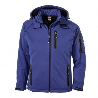 KRÄHE St. Moritz Softshell Jacket cornflower blue | M