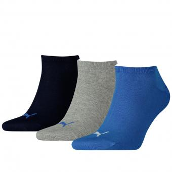 Puma Sneaker Socks, pack of 3 blue grey | 43/46