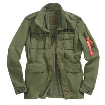 Alpha Industries Huntington jas oliv | XXL