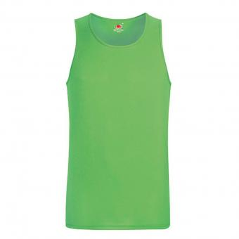 Fruit of the Loom Performance Tank Top green | M