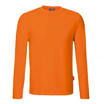 HAKRO Performance Long Sleeve orange | XL