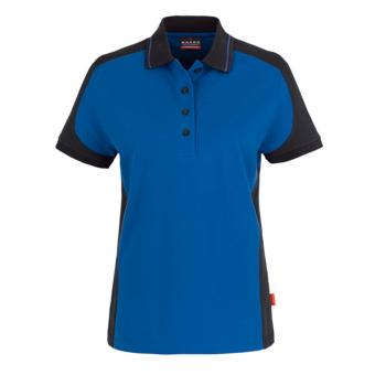 Hakro Contrast Performance Polo Shirt blue grey | L