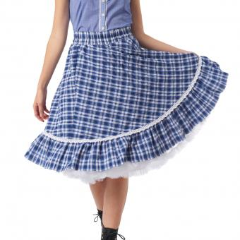 Skirt Ava blue white | 36
