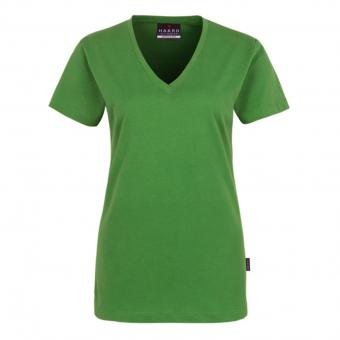 Hakro Classic V-Neck Shirt green | M