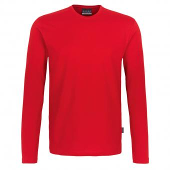 HAKRO Heavy Long sleeve red | XXL
