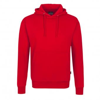 HAKRO Premium Hooded Jacket red | L