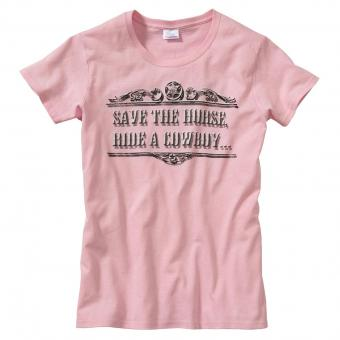 Living Colours T-Shirt Save light pink rosa | S