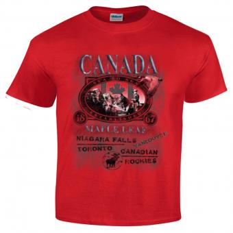 Living Colours T-Shirt Canada rouge | XL