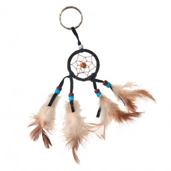 Key Chain Dreamcatcher black