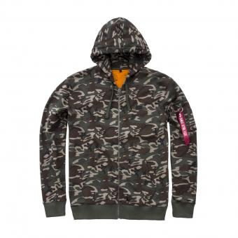 Alpha Industries Jacke X-fit Hoody Camouflage camouflage | 3XL