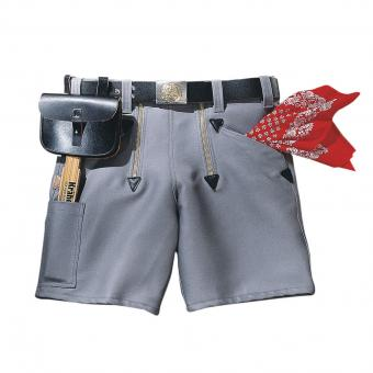 KRÄHE Guild Jeans Shorts grey | 46