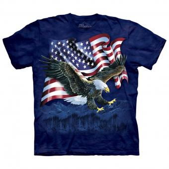 T-shirt Eagle Talon Flag bleu | XL