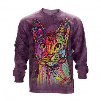 T-Shirt Manches Longues Abyssinian lila | XXL