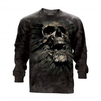 T-Shirt Manches Longues Breakthrough Skull noir | S
