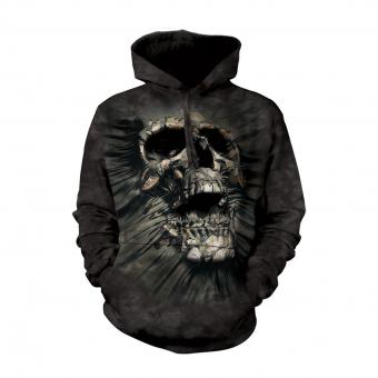 Shirt met capuchon Breakthrough Skull zwart | S