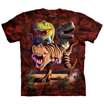 Kids T-Shirt Rex Collage red | S