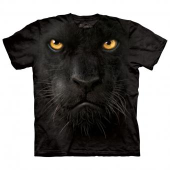 T-Shirt Black Panther Face black | M