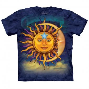 T-shirt Sun Moon bleu | XL