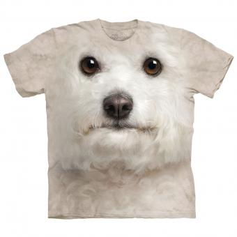 T-Shirt Bichon Frise Face brown | XXL