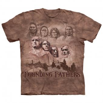 T-shirt The Founders bruin | 5XL