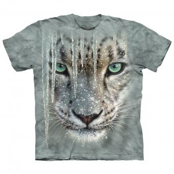 T-Shirt Icicle Snow Leopard green | L