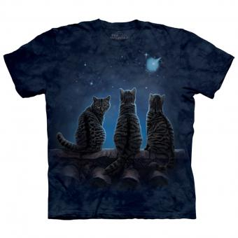 T-Shirt Wish Upon A Star blue | S