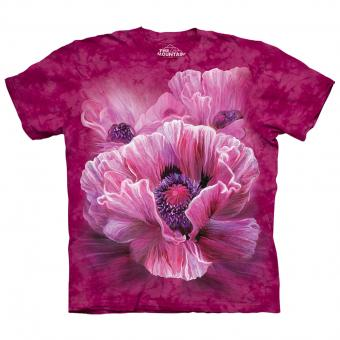 T-Shirt Poppies red | XXL