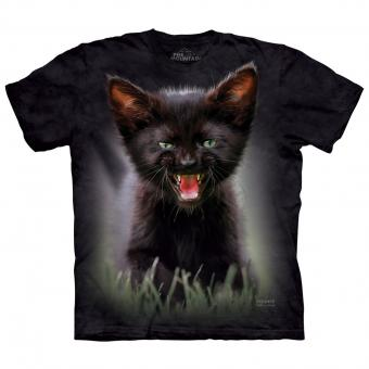 T-Shirt Pounce Princess Leia Cat black | L