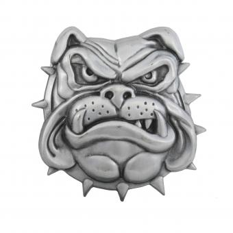 Buckle Bulldog Head