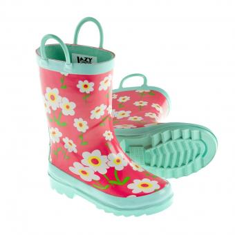 Kids Rain Boots (pair) Rise & Shine red | 24