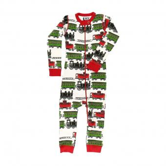 Baby flapjack Train Caboose off- white | L