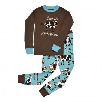 Kids PJ Set Long-Sleeve Kids Mooody in Morning 3