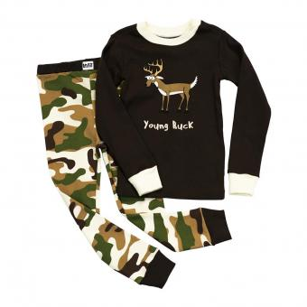 Kids PJ Set Long-Sleeve Kids Young Buck 6