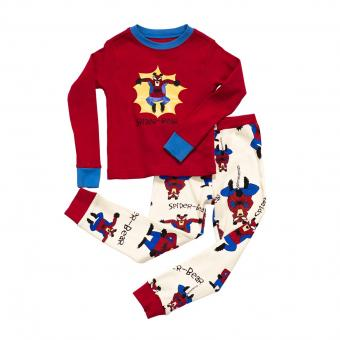 Kids PJ Set Long-Sleeve Kids Spider Bear 2