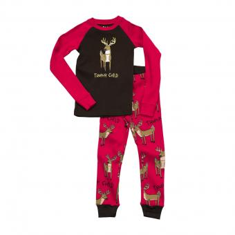 Kids PJ Set Long-Sleeve Kids Trophy Child 4