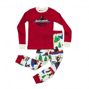 Kids PJ Set Long-Sleeve Kids Canoe Tuck Me In? 3