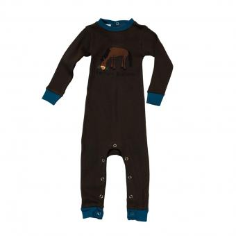 Baby Sleepsuit Infant Pasture Bedtime brown | S