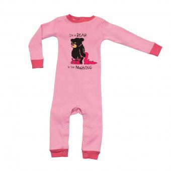 Baby Sleepsuit Infant Bear In The red | L