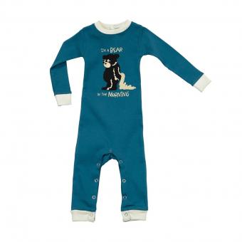 Baby Sleepsuit Infant Bear In The blue | M