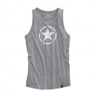 Alpha Industries Star Tanktop grau | XXL