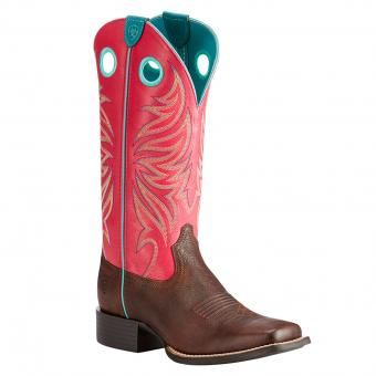 Ariat Boots Round up Ryder rot braun | 36