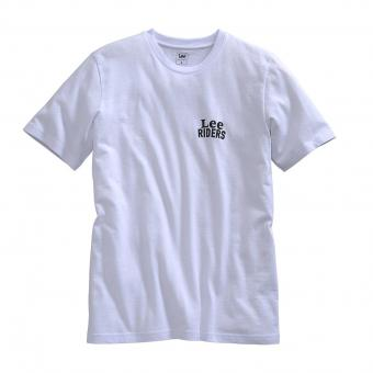 Lee T-shirt Riders wit | L