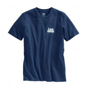 Lee T-Shirt Riders blau | XL