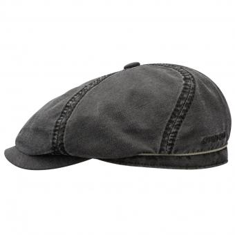 Stetson 6-Panel pet zwart | XXL