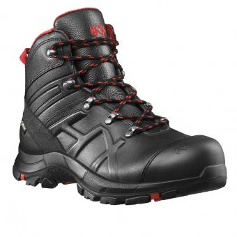Haix Black Eagle® Safety Mid 54 Sicherheits-Stiefel S3 SRC ESD HRO HI CI WR schwarz | 42